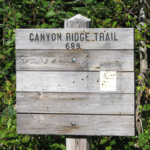 Canyon Ridge Trailhead Sign