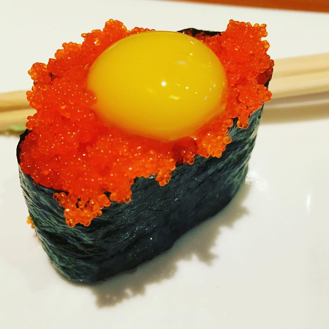 From bbq to sushi for Flying fish egg